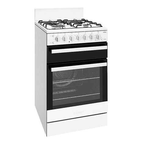 Chef CFG517WBNG 54cm Freestanding Natural Gas Stove - Stove Doctor