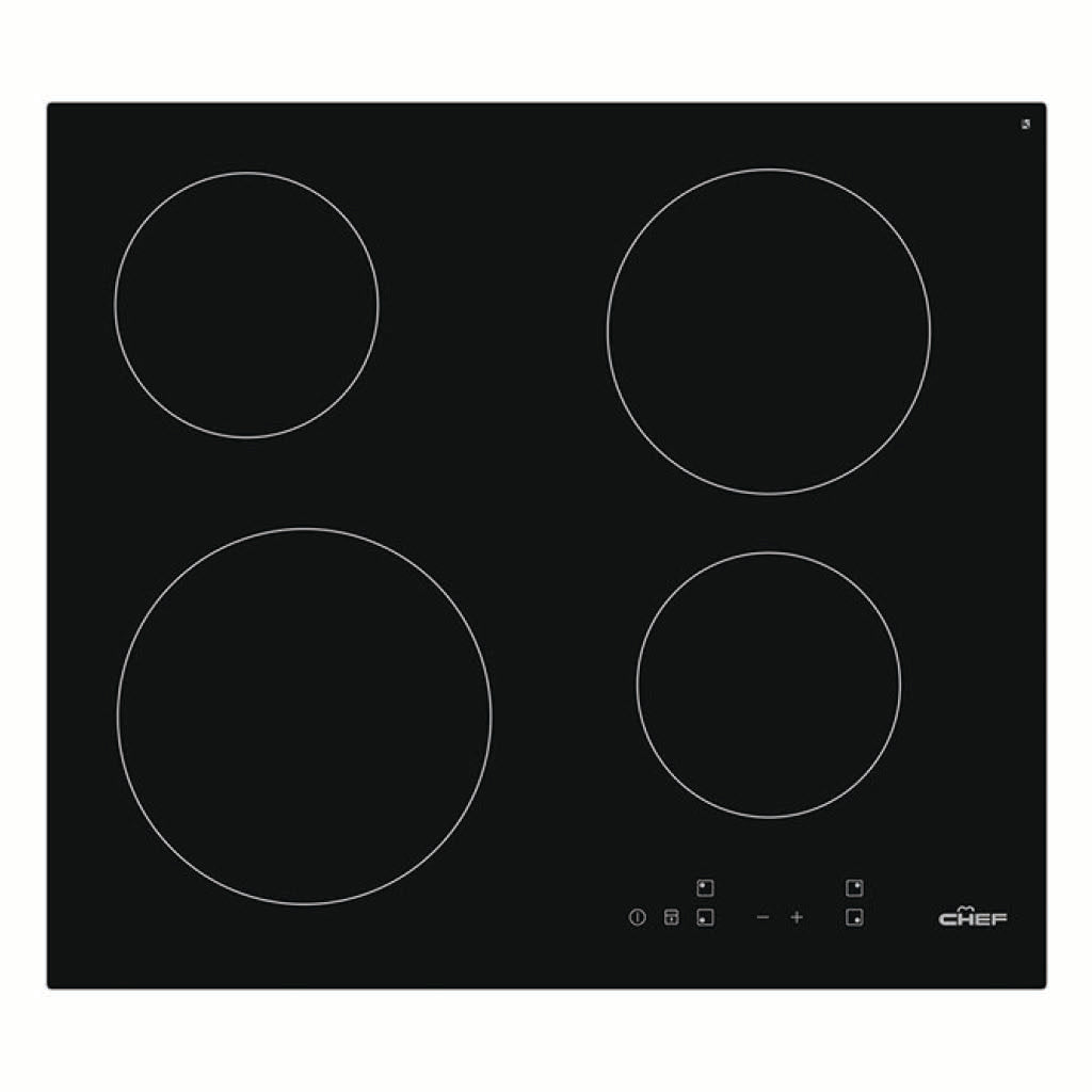 Chef CHC645BA 60cm Ceramic Electric Cooktop - Stove Doctor