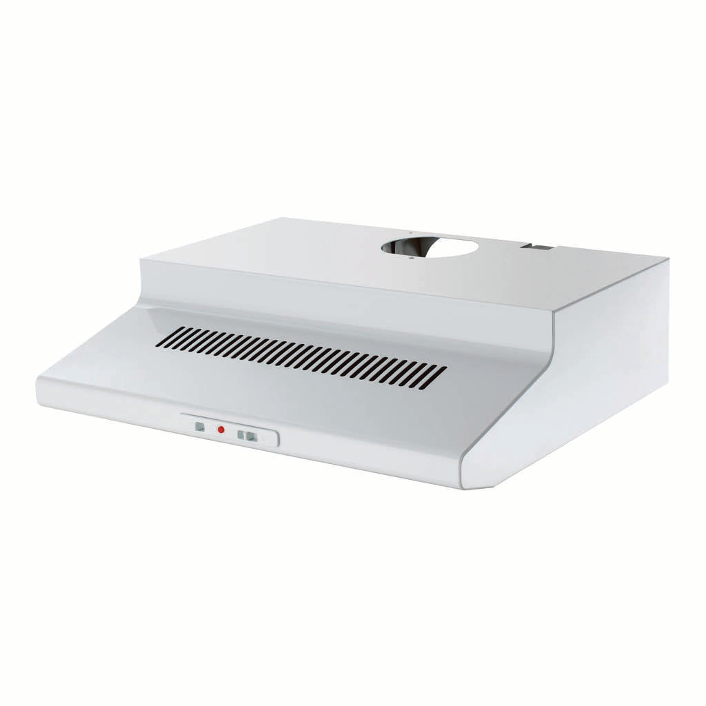 Chef CRF610WA 60cm Fixed White Rangehood - Stove Doctor
