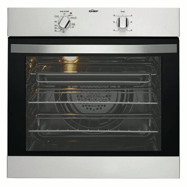 Chef CVE612SA 60cm Built-In Electric Oven - Stove Doctor