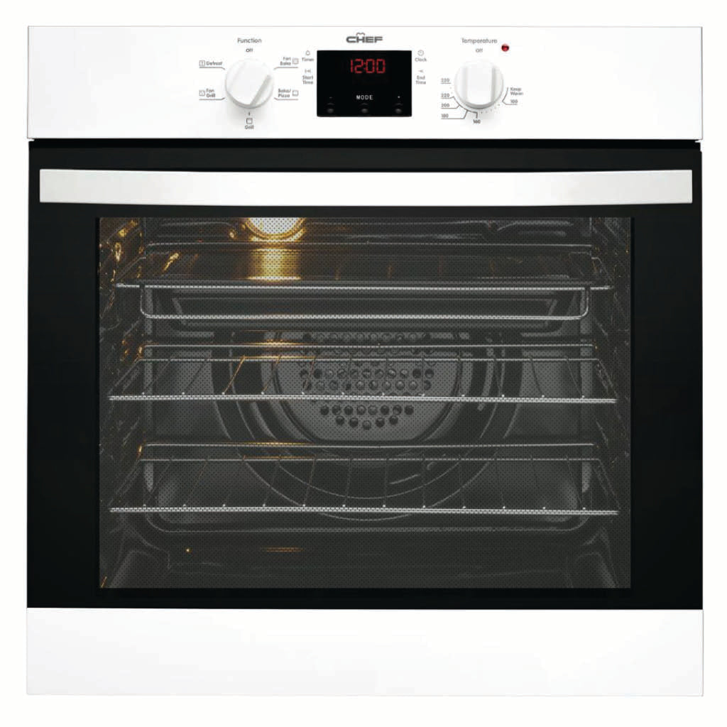 Chef CVE614WA 60cm Built-In Electric Oven - Stove Doctor
