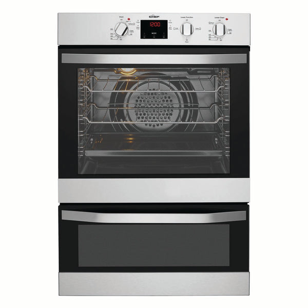 Chef CVE624SA Electric Wall Oven With Separate Grill - Stove Doctor