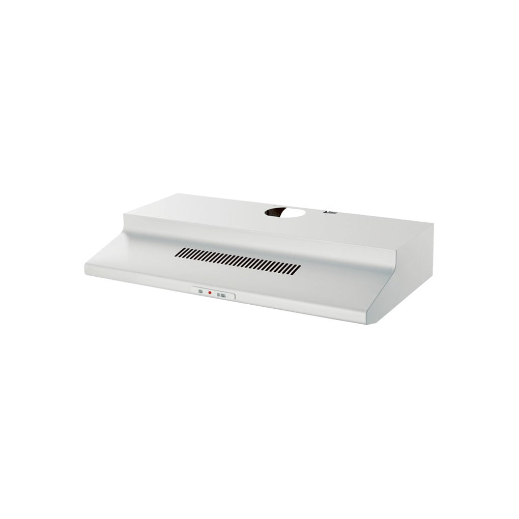 CHEF RFD902W 90cm Fixed White Rangehood