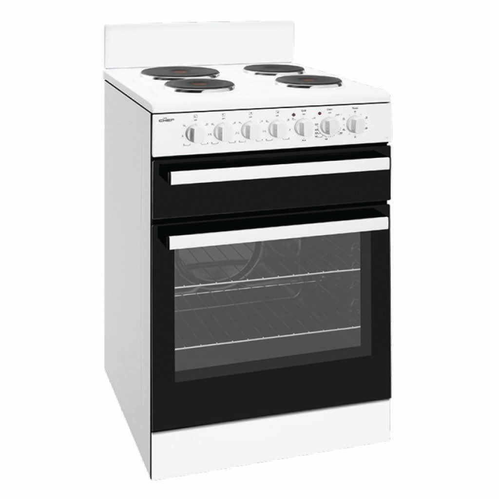 Chef CFE533WB 54cm Electric Freestanding Stove