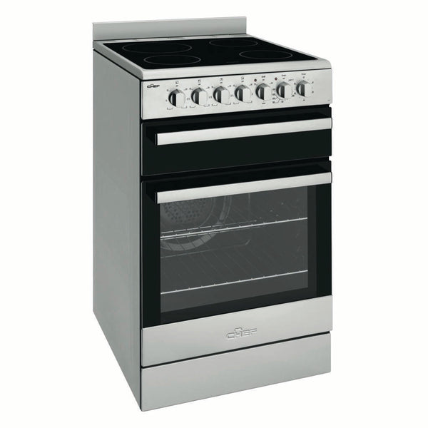 Chef CFE547SB 54cm Freestanding Electric Stove