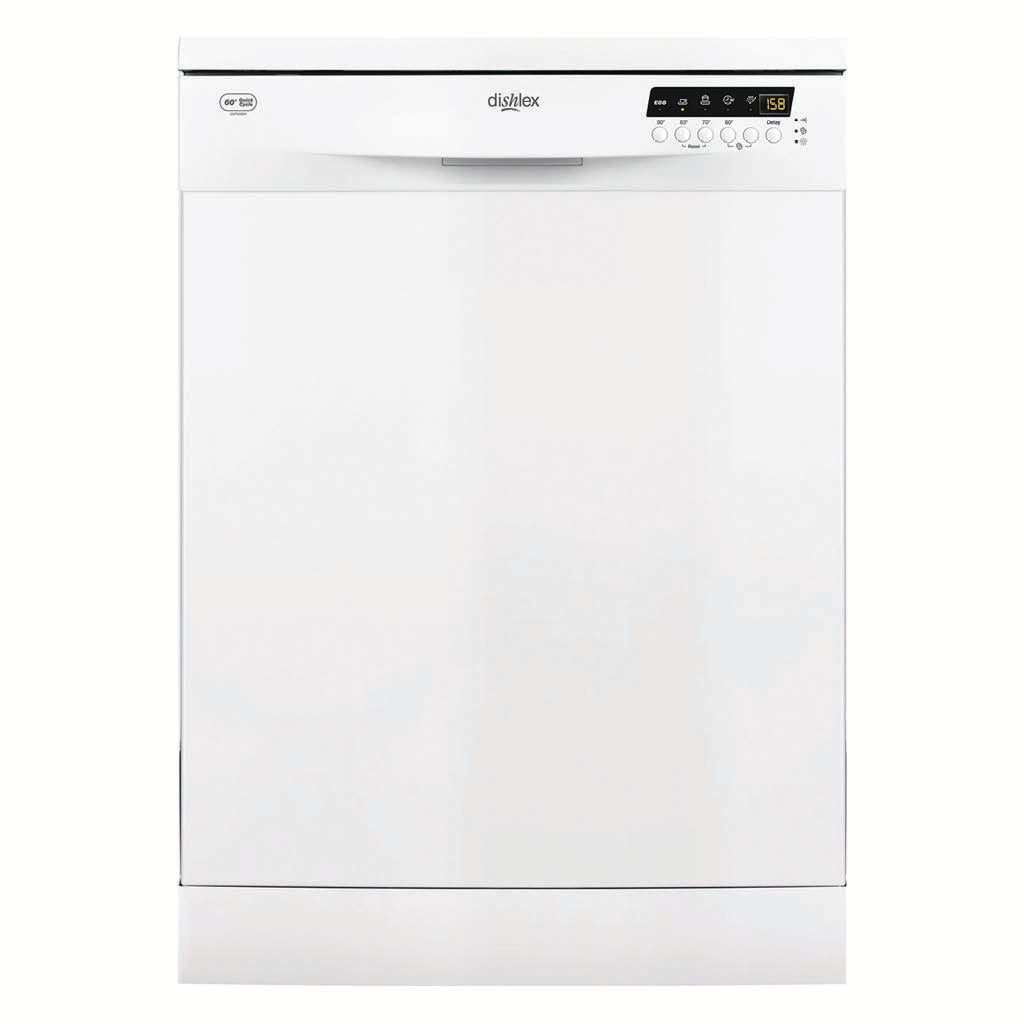 Dishlex DSF6206W Freestanding Dishwasher - Stove Doctor