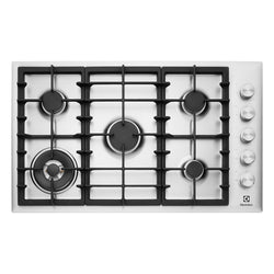 ELECTROLUX EHG953SA 90CM Natural Gas Cooktop - Stove Doctor
