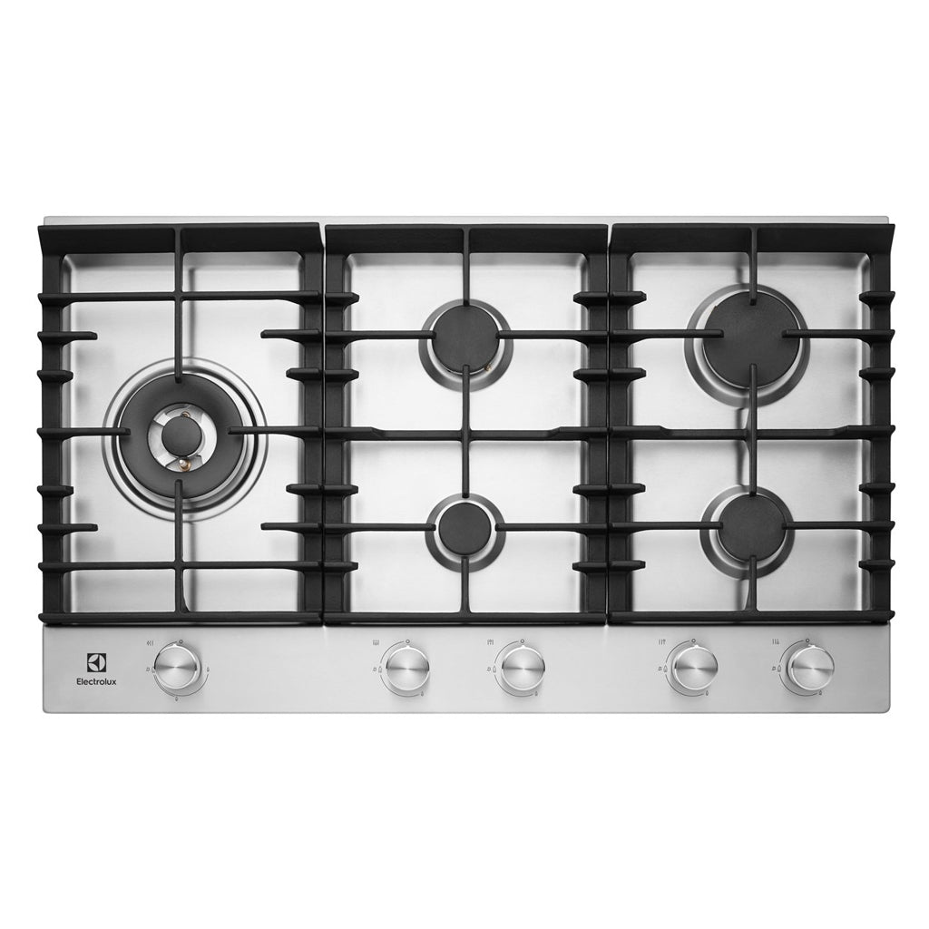 ELECTROLUX EHG955SA 90CM Natural Gas Cooktop - Stove Doctor