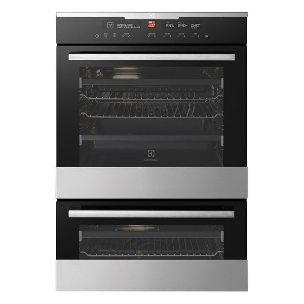 ELECTROLUX EVE626SC 60CM Electric Built-In Double Oven - Stove Doctor
