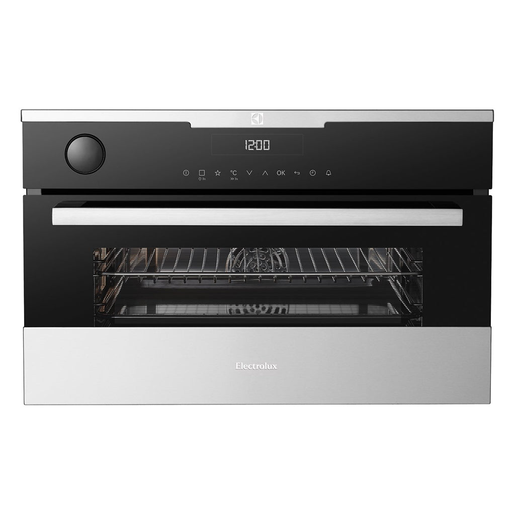 ELECTROLUX EVE678SC 38CM Electric Built-In Compact Combi-Steam Oven - Stove Doctor