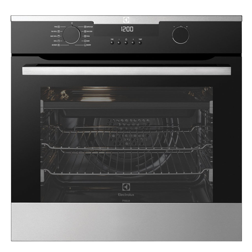 ELECTROLUX EVEP614SC 60CM Electric Built-In Pyrolytic Oven - Stove Doctor