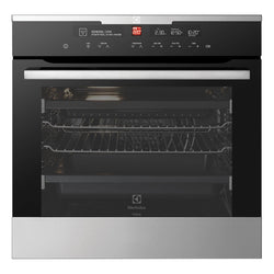 ELECTROLUX EVEP616SC 60CM Pyrolytic Electric Built In Oven - Stove Doctor