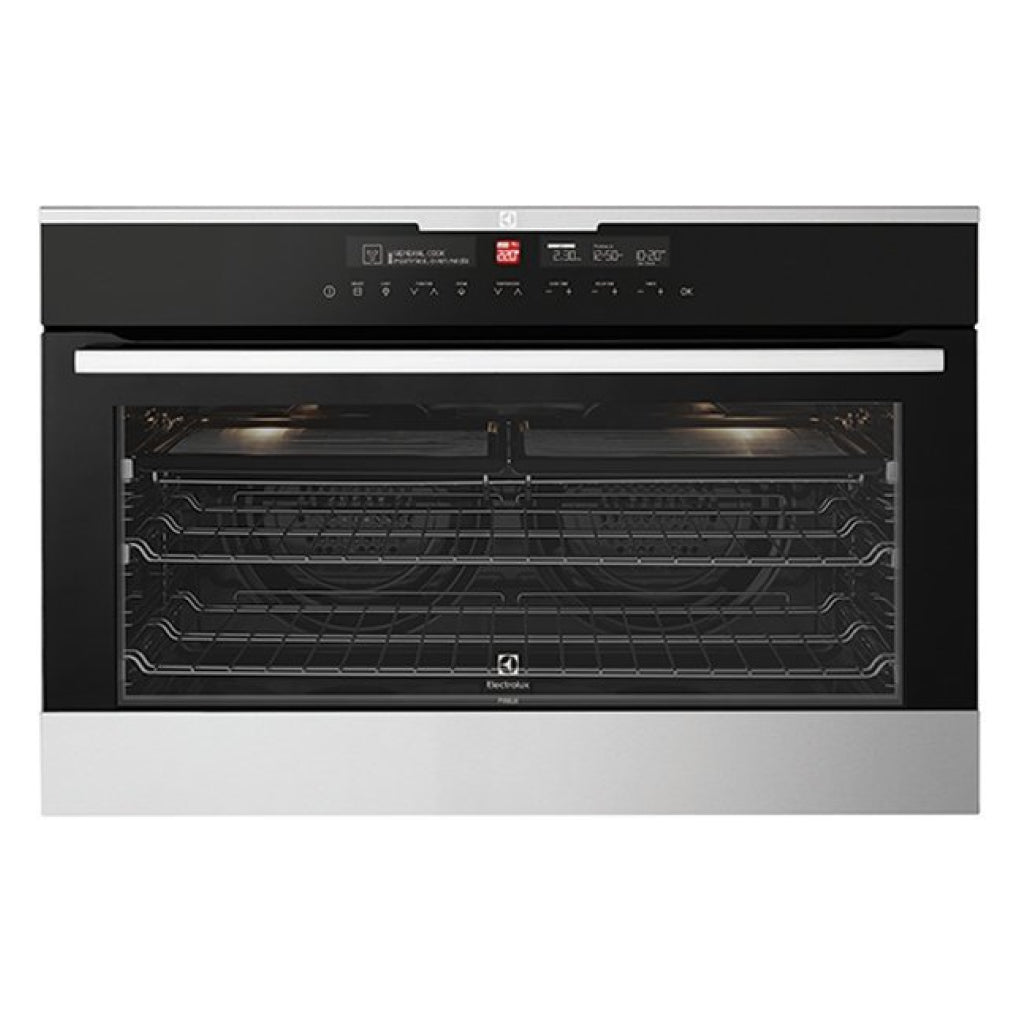 ELECTROLUX EVEP916SB 90cm Pyrolytic Built-In Oven - Stove Doctor