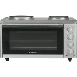 Euromaid MC130T Benchtop Oven with Cooktop - Stove Doctor