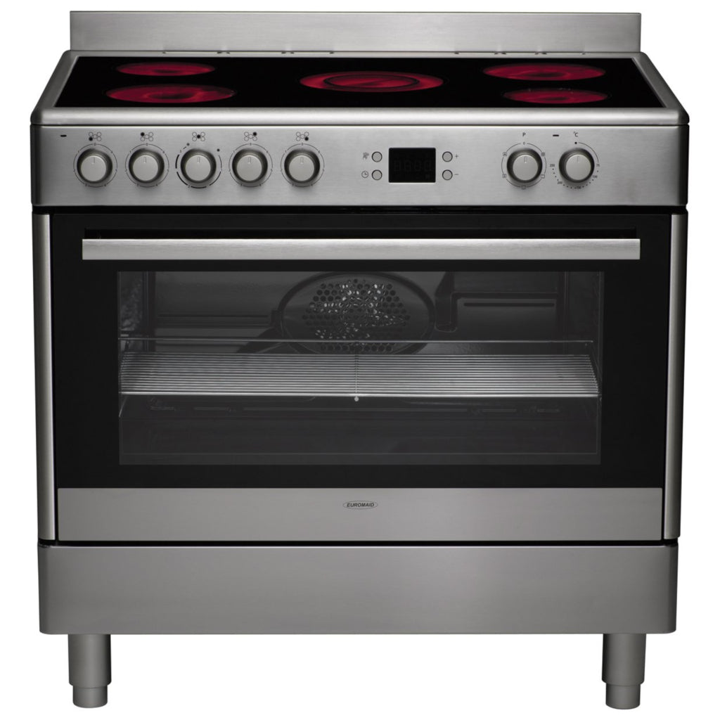 Euromaid CS90S 90cm Freestanding Electric Stove