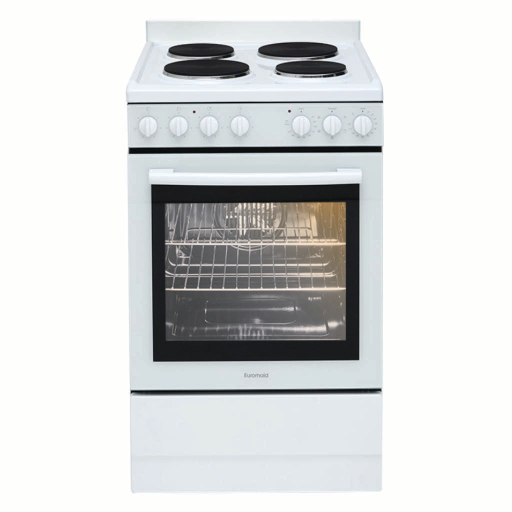 Euromaid EFF54W 54cm Electric Freestanding Stove
