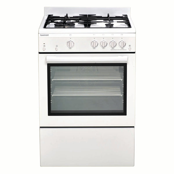 Euromaid GEGFW60 60cm Freestanding Natural Gas Stove