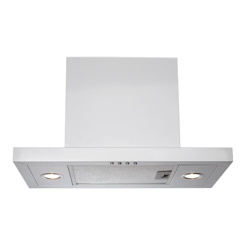 Euromaid IRI6WE3 60cm White Integrated Rangehood