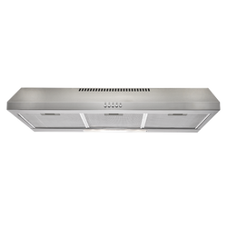 Euromaid R90FS 90cm Fixed Stainless Steel Rangehood