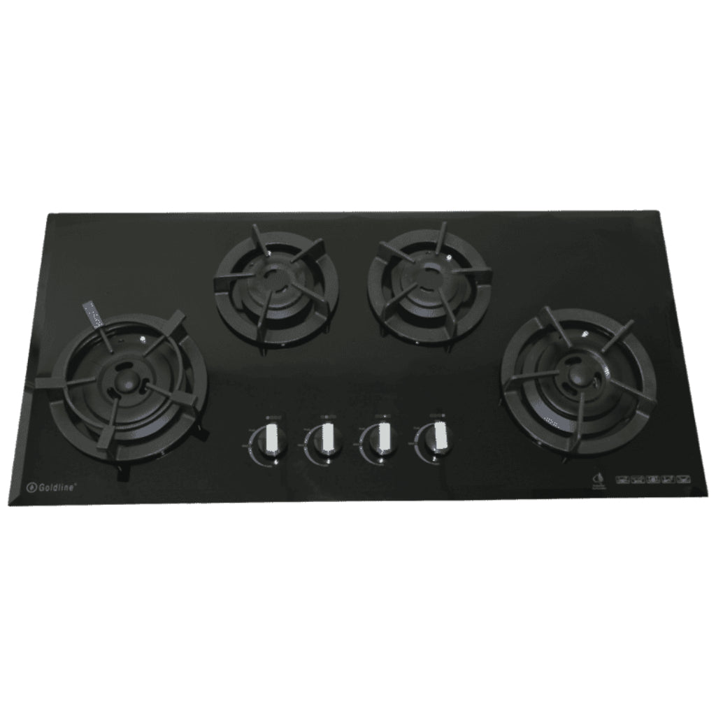 Goldline Avard GL4BZNG-CAST 93cm Gas Cooktop