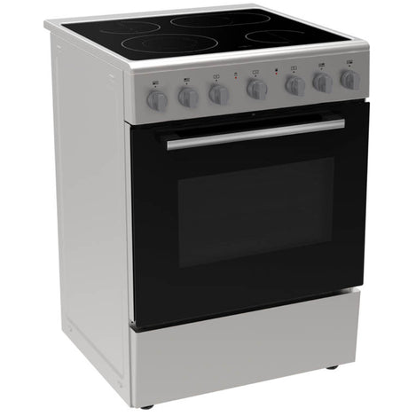 KARDI KASE60WH 60CM WHITE ELECTRIC STOVE