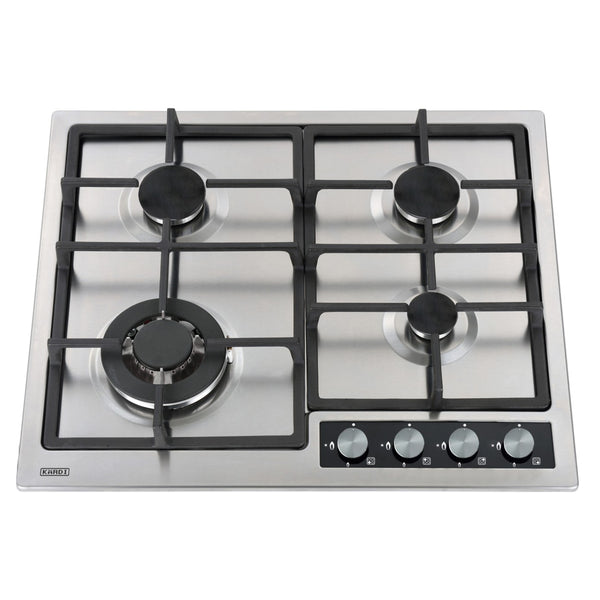 KARDI KAG60SSX3 60cm Stainless Steel Gas Cooktop