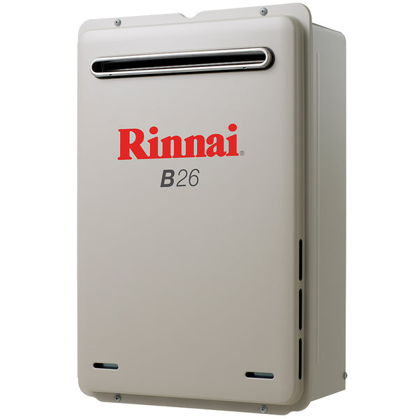 Rinnai B26NG Builder Series 26L Continuous Flow Hot Water Heater
