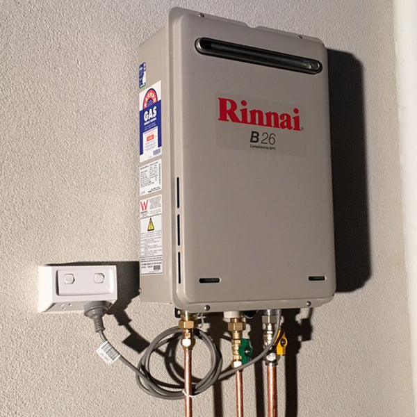 Rinnai B26 Builder Series 26L Continuous Flow Hot Water Heater