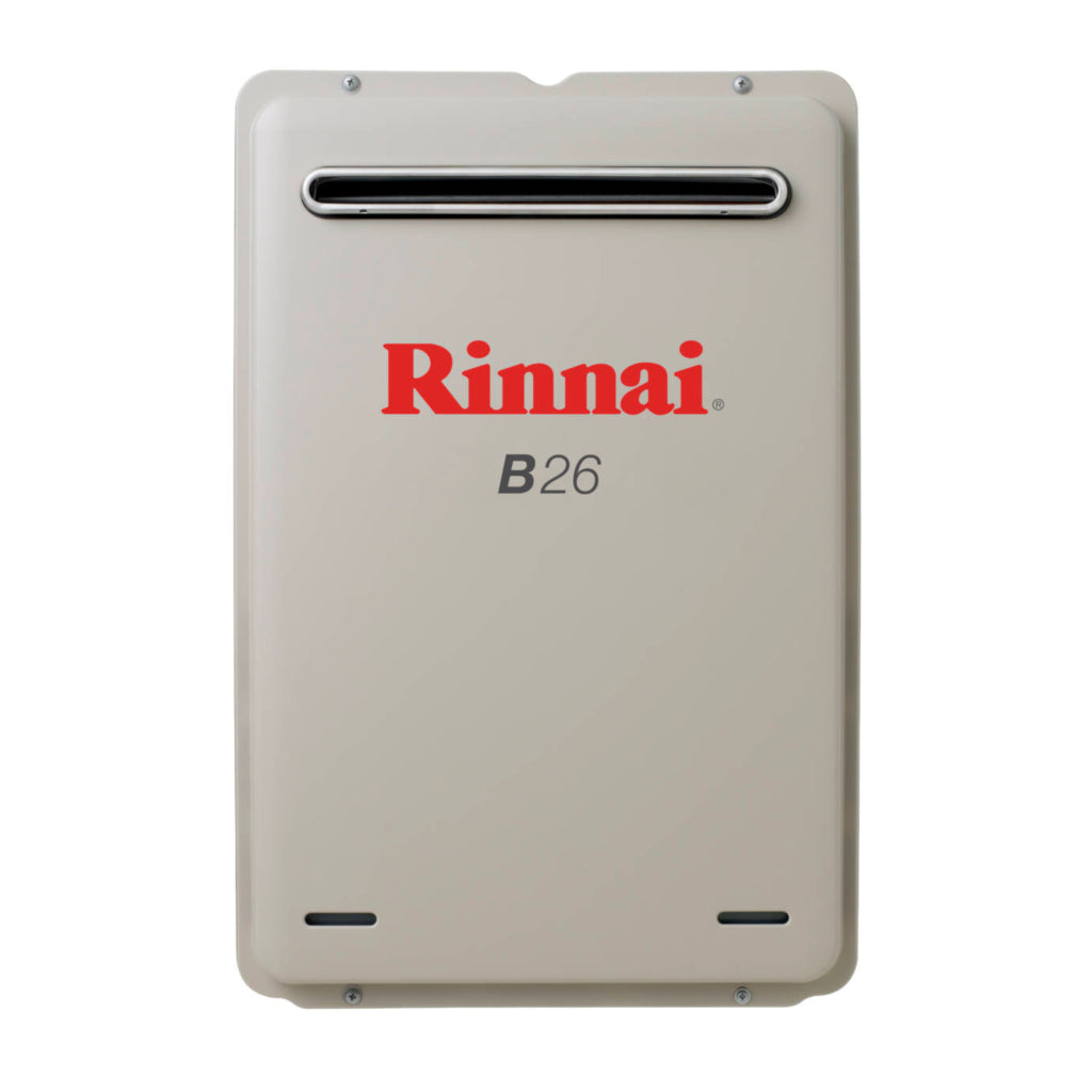 Rinnai B26NG Builder Series 20L Continuous Flow Hot Water Heater