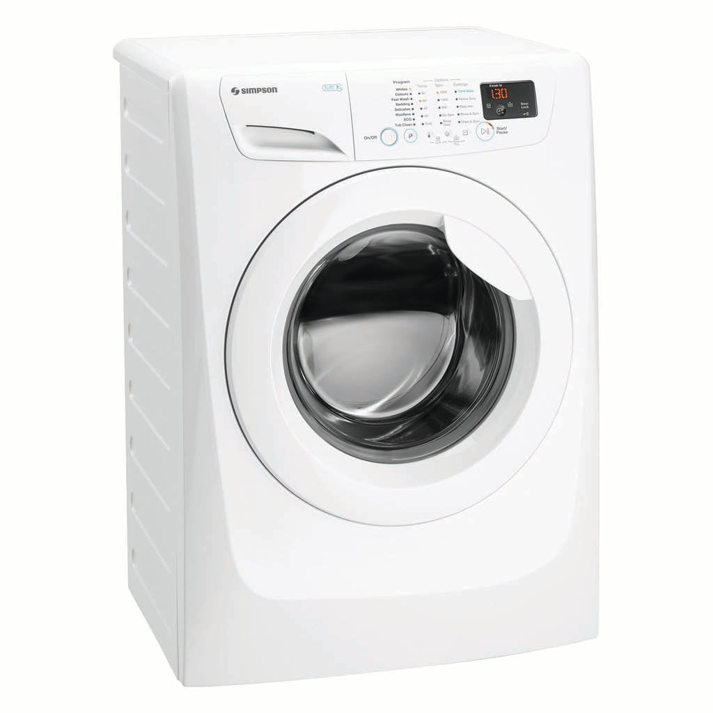 Simpson SWF12743 7KG Front Load Washing Machine - Stove Doctor