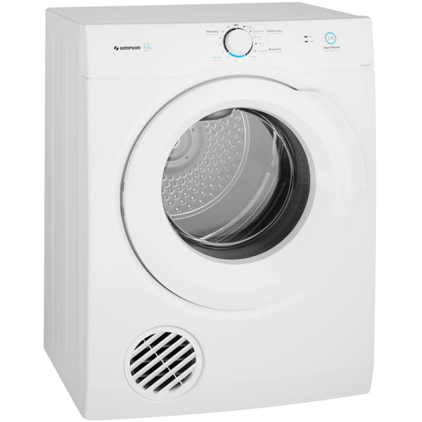 Simpson SDV656HQWA 6.5Kg Vented Dryer
