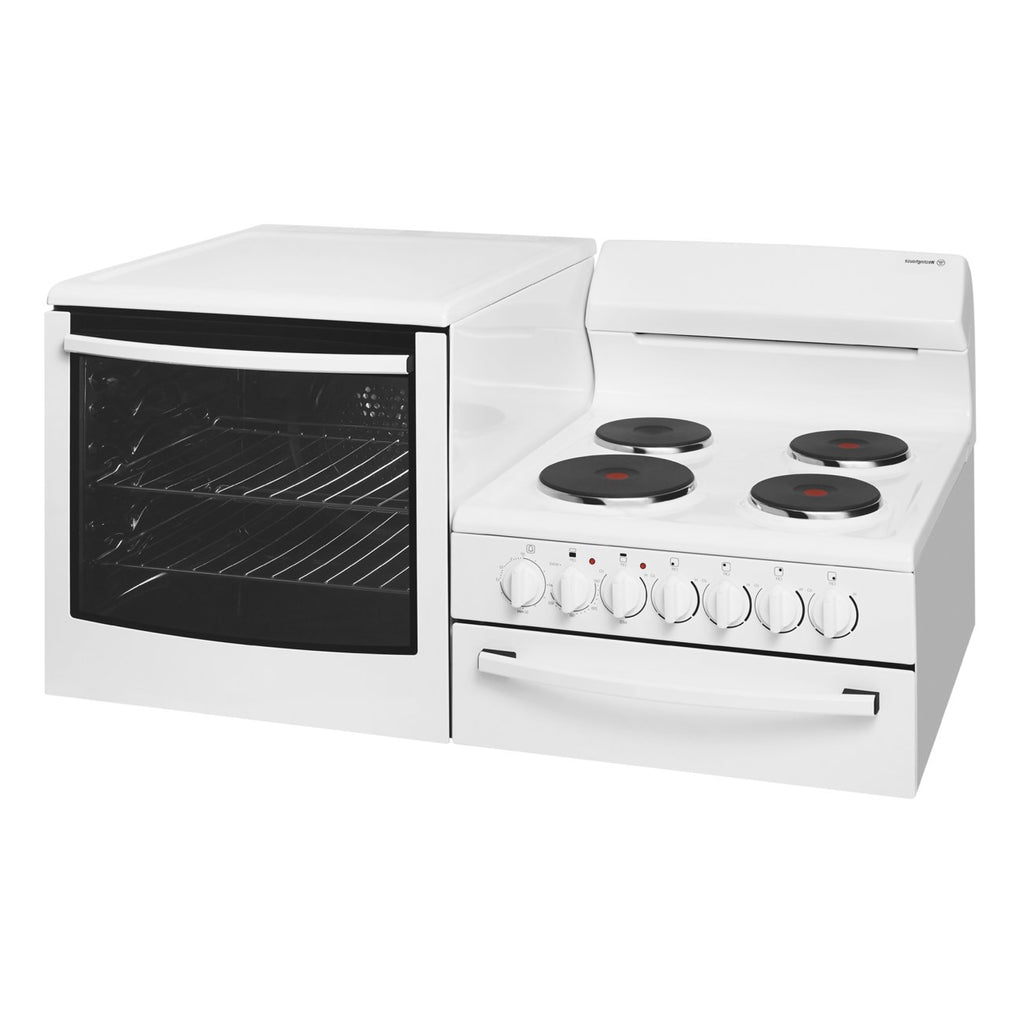 Westinghouse WDE135WA-L Elevated Electric Oven/Stove - Stove Doctor