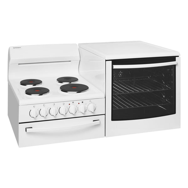 Westinghouse WDE135WA-R Elevated Electric Oven/Stove - Stove Doctor