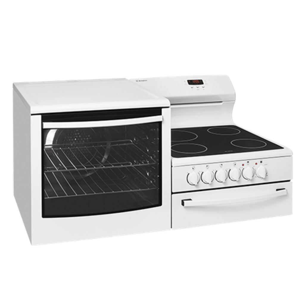 Westinghouse WDE147WA-L Elevated Electric Oven/Stove - Stove Doctor