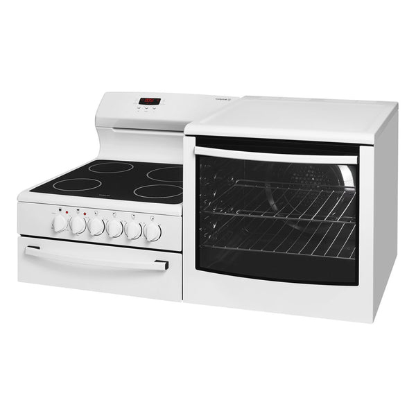 Westinghouse WDE147WA-R Elevated Electric Oven/Stove - Stove Doctor