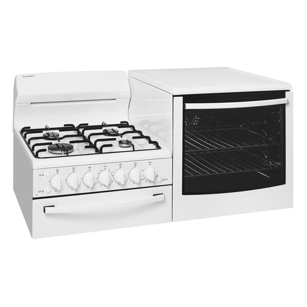 Westinghouse WDG103WB-R Elevated Gas Oven/Stove - Stove Doctor