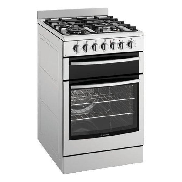 WESTINGHOUSE WFE517SA 54cm Freestanding Dual Fuel Oven/Stove - Stove Doctor