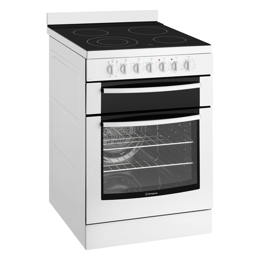 Westinghouse WFE647WA 60cm Electric Freestanding Stove - Stove Doctor