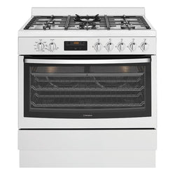 Westinghouse WFE914SB 90 cm Freestanding Dual Fuel Oven/Stove - Stove Doctor
