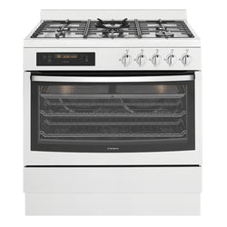 Westinghouse WFEP915SB Pyrolytic Freestanding Dual Fuel Oven/Stove - Stove Doctor