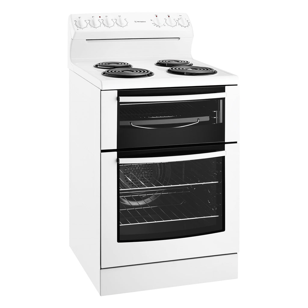 WESTINGHOUSE WLE625WA 60CM Freestanding Electric Oven/Stove - Stove Doctor
