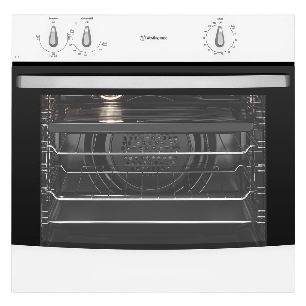 WESTINGHOUSE WVE613W 60cm Built-In Electric Oven