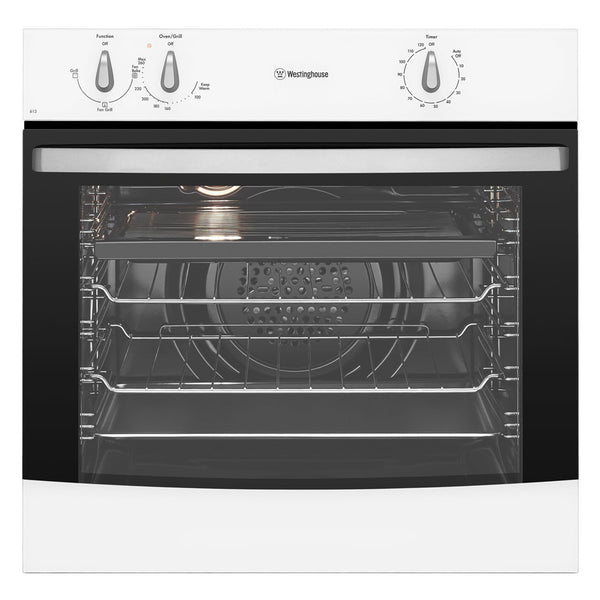 Westinghouse WVE613W 60cm Built-In Electric Oven - Stove Doctor