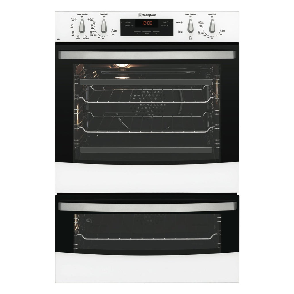 Westinghouse WVE626W 60cm Electric Built In Double Oven - Stove Doctor