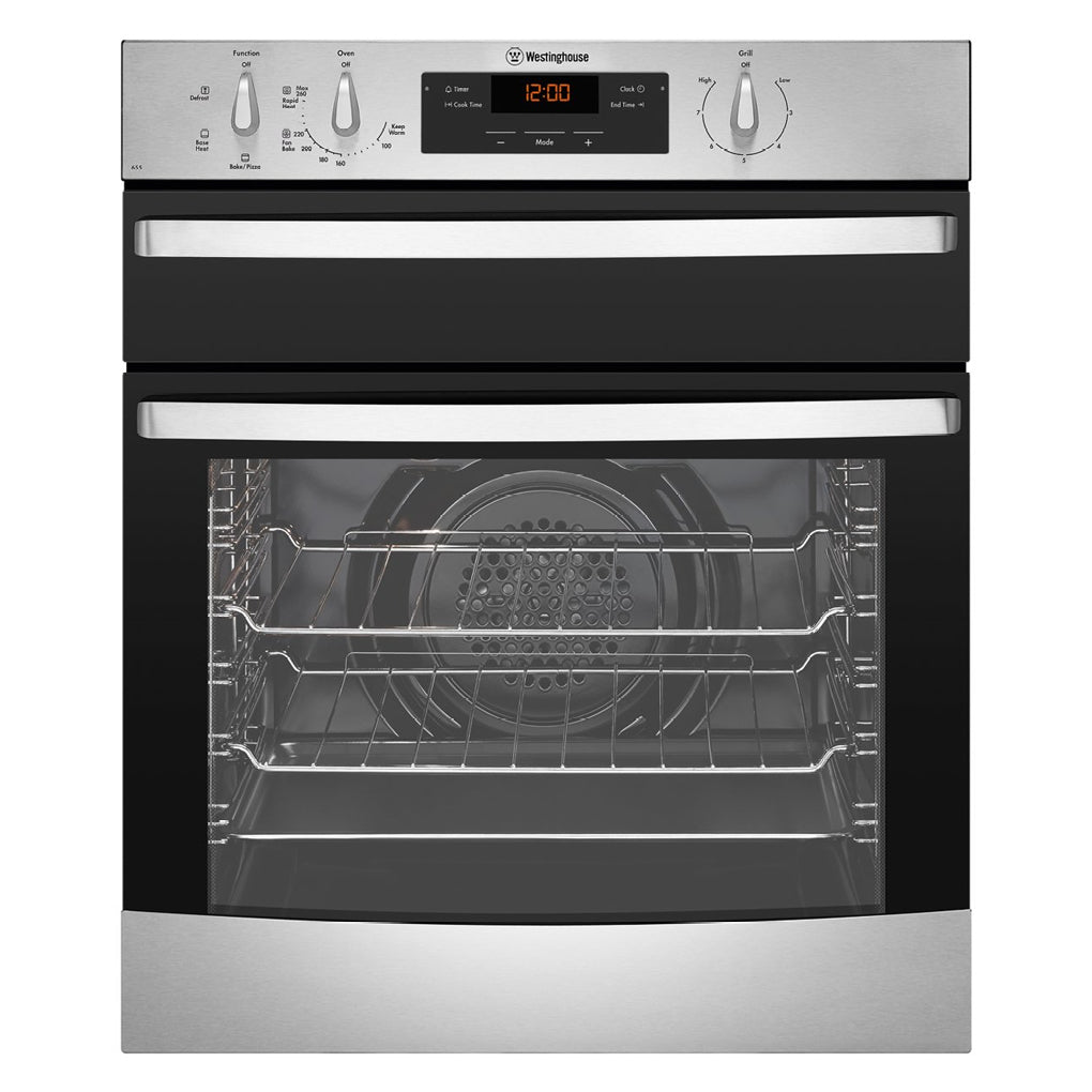 Westinghouse WVE655S Electric Oven With Separate Grill - Stove Doctor