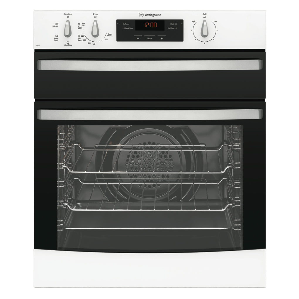 WESTINGHOUSE WVE655W Electric Oven With Separate Grill