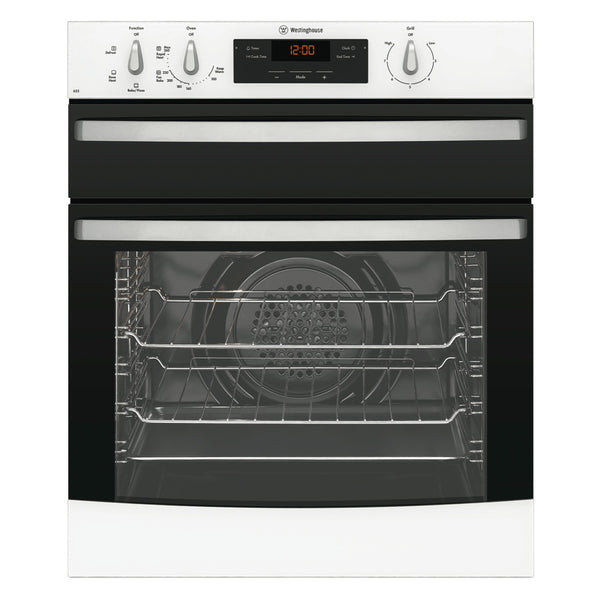 Westinghouse WVE655W Electric Oven With Separate Grill - Stove Doctor