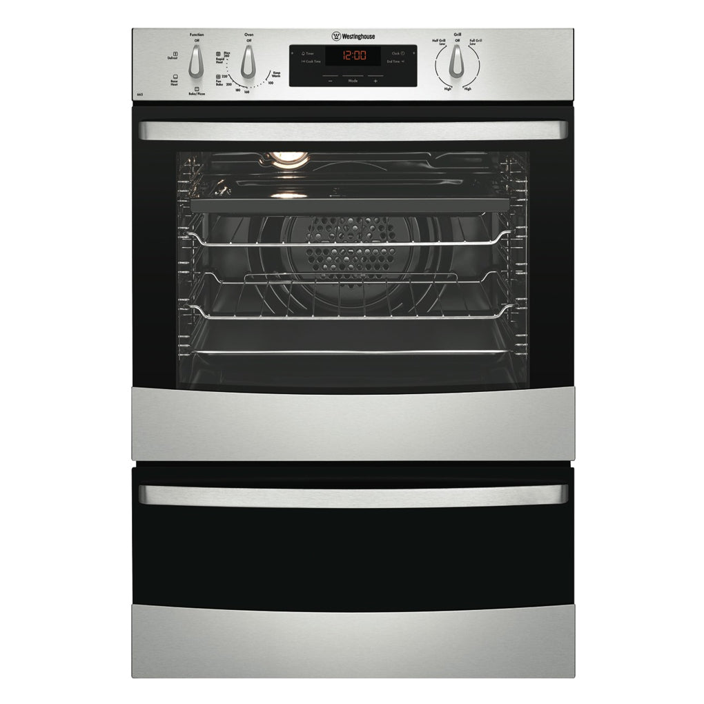 WESTINGHOUSE WVE665S Electric Wall Oven With Separate Grill