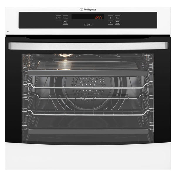 Westinghouse WVEP618W 60cm Electric Built In Pyrolytic Oven - Stove Doctor