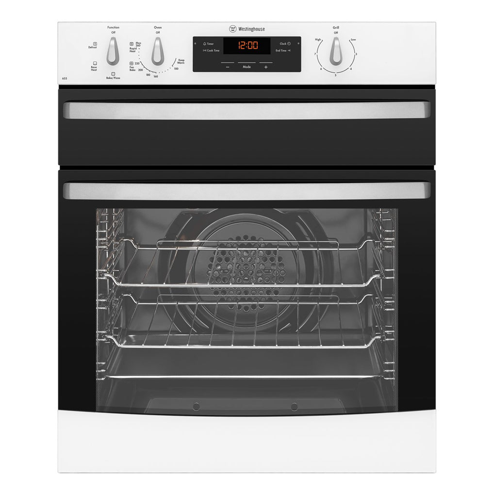 WESTINGHOUSE WVG655W Gas Oven With Separate Grill